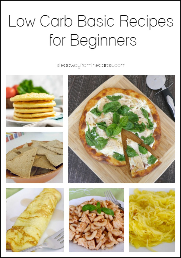 Low Carb Basic Recipes For Beginners Step Away From The Carbs