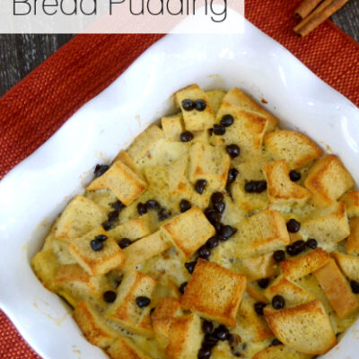 Low Carb Bread Pudding