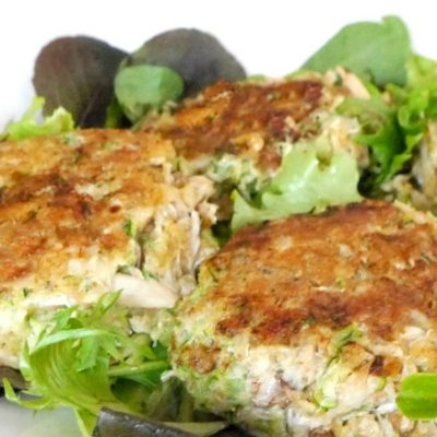 Low Carb Zucchini Crab Cakes