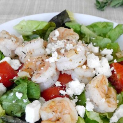 Greek Shrimp with Feta