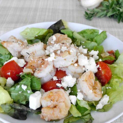 Greek Shrimp with Feta