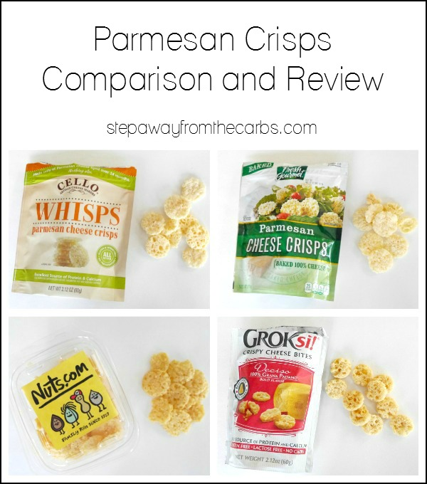Parmesan Crisps Comparison and Review