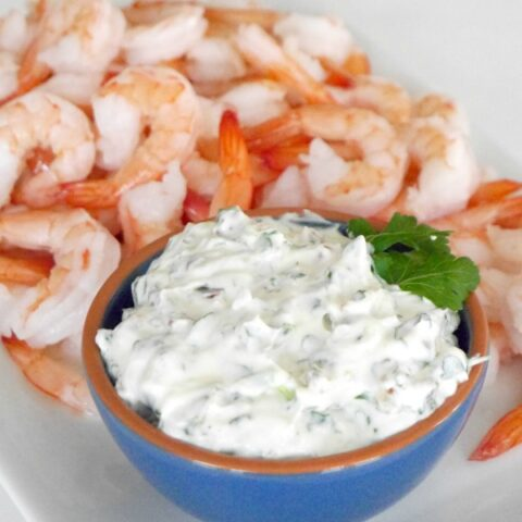 Bacon and Herb Dip (for shrimp)