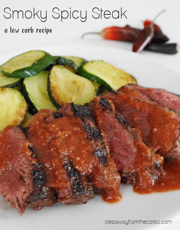 Smoky Spicy Steak - a wonderful low carb recipe that is bursting with flavor!