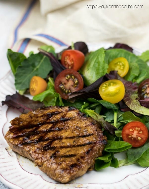 Easy Spiced Pork Chops - low carb recipe with video tutorial - no marinating required!