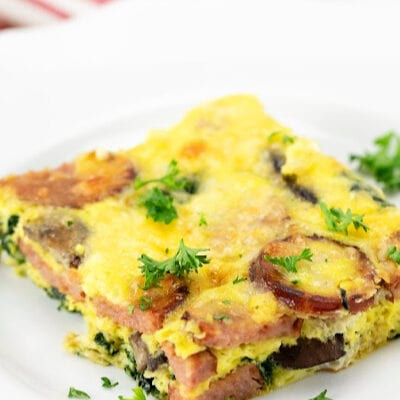 Low Carb Breakfast Casserole with Sausage