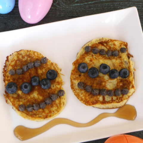Low Carb Easter Egg Pancakes