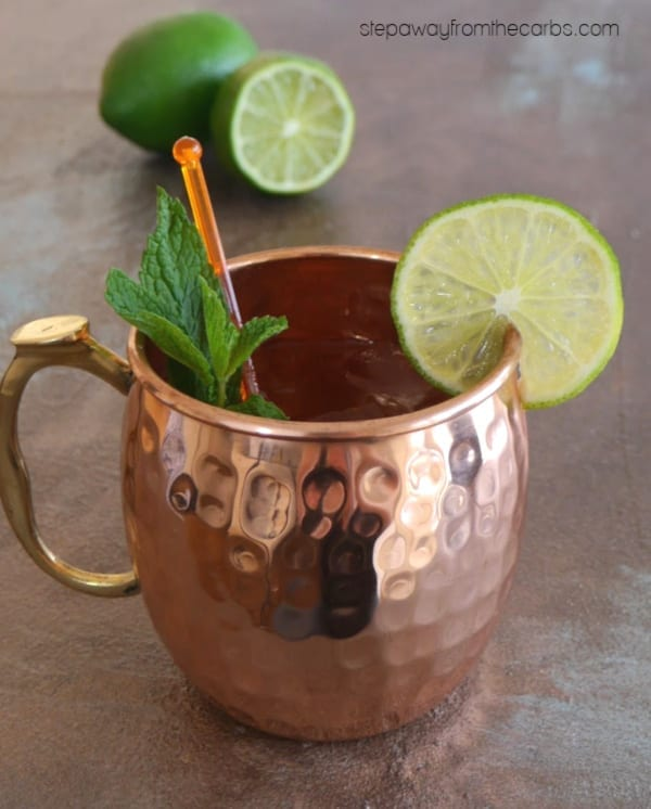 Zero Carb Moscow Mule