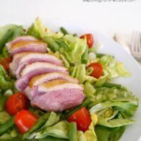 Pan-Fried Duck Breast Salad
