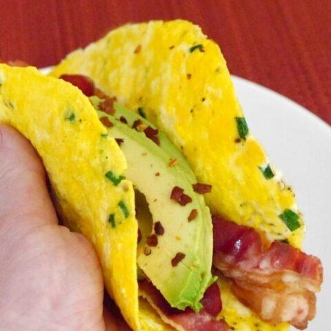 Low Carb Egg Wraps