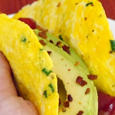 Low Carb Egg Wraps
