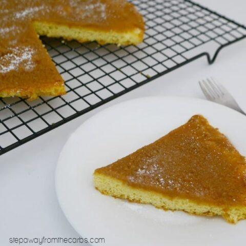 Low Carb Triple Almond Cake