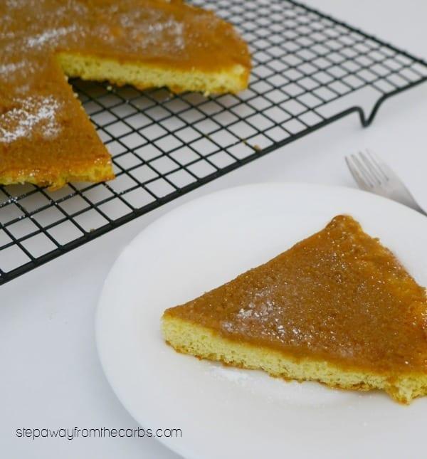 Low Carb Triple Almond Cake - sugar free, gluten free, and keto recipe