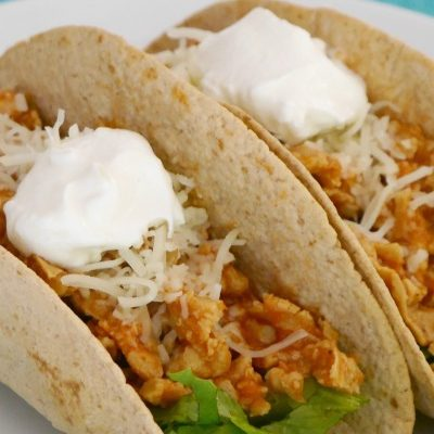 Low Carb Vegetarian Pulled Pork Tacos