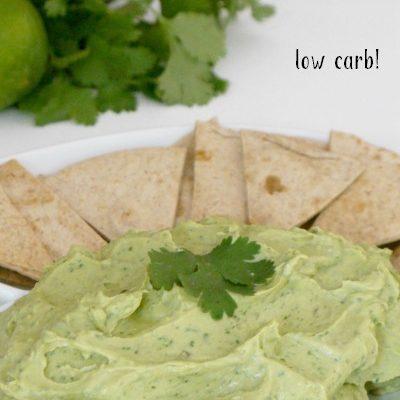 Easy Creamy Guacamole