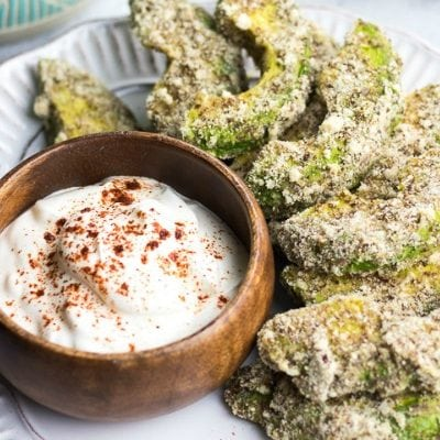 Low Carb Avocado Fries