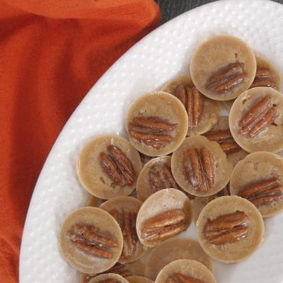 Low Carb Pecan Caramel Bites
