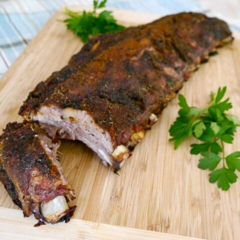 Low Carb Dry Rub for Pork Ribs
