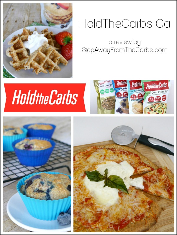 HoldTheCarbs.Ca - a review of their low carb products by StepAwayFromTheCarbs.com