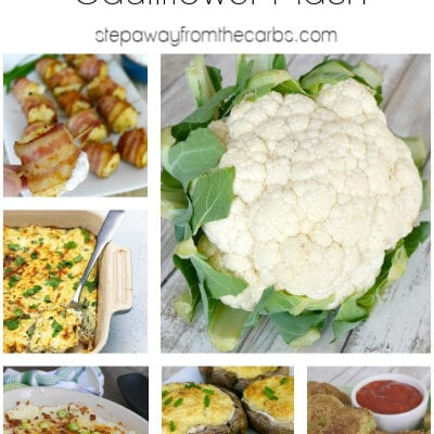 14+ Low Carb Recipes with Cauliflower Mash