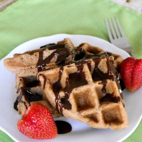 Low Carb Chocolate Waffles