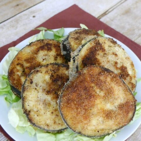 Low Carb Eggplant Fritters