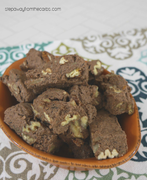 Low Carb Fridge Fudge - a sugar free treat recipe!