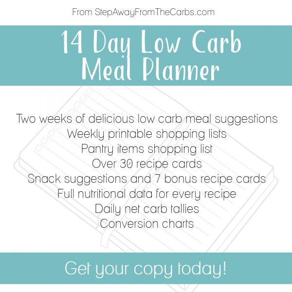 14 Day Low Carb Meal Planner