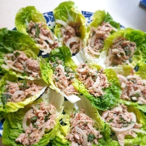 Low Carb Thai Tuna Salad