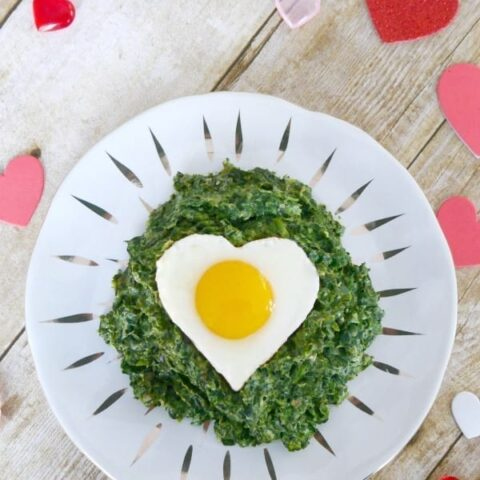 Low Carb Valentine's Breakfast