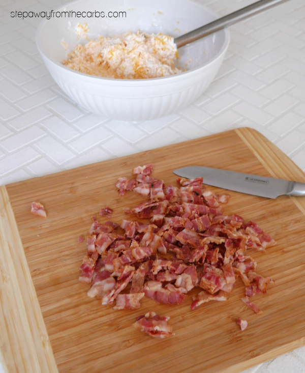 Spicy Warm Bacon Dip - a low carb, LCHF, gluten free, and keto friendly recipe that's perfect for a crowd!