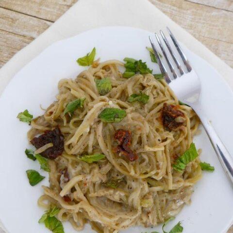 Low Carb Eggplant Noodles