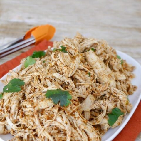 Low Carb Mexican Shredded Chicken