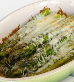 Low Carb Asparagus Gratin