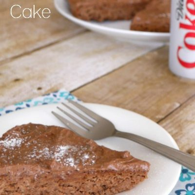 Low Carb Diet Coke Cake