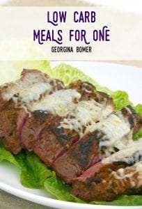 Low Carb Meals For One - the book