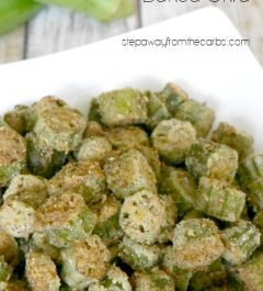 Low Carb Baked Okra