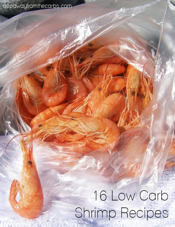 16 Low Carb Shrimp Recipes - so many keto-friendly dishes to choose from!