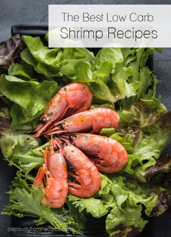 The Best Low Carb Shrimp Recipes - over 20 delicious keto friendly dishes to try!
