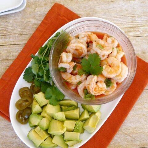 Low Carb Mexican Shrimp Appetizer