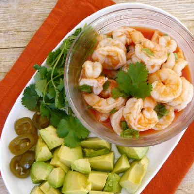Low Carb Mexican Shrimp Appetizer