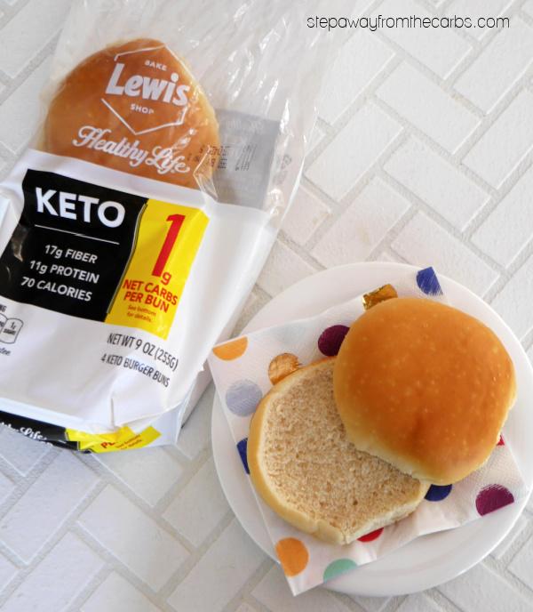 Healthy Life Keto Burger Buns