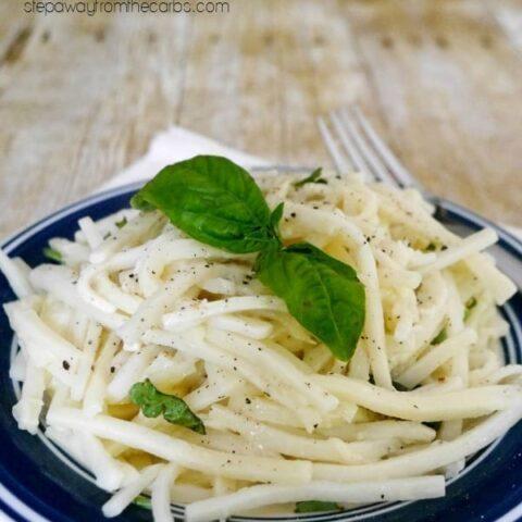 Low Carb Palmini Noodles