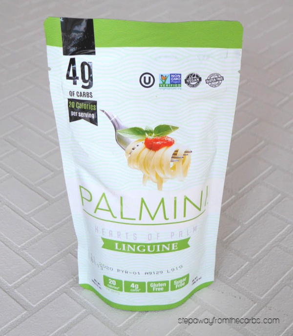 Low Carb Palmini Noodles - a healthy pasta alternative made from hearts of palm!