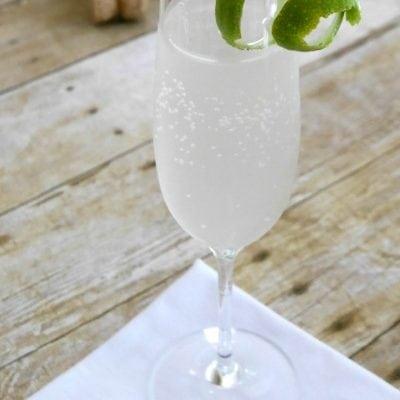 Low Carb Sparkling Margarita