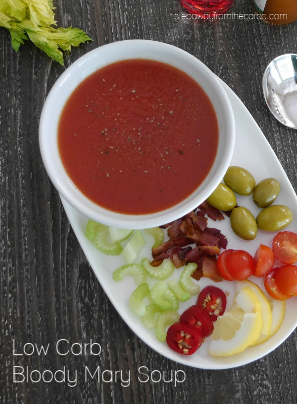 Low Carb Bloody Mary Soup