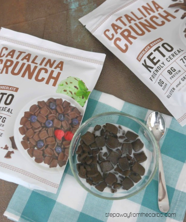 Catalina Crunch - low carb cereal in SIX different flavors!