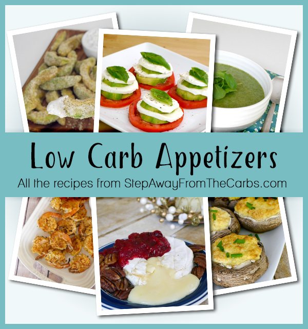 Low Carb Appetizers - all the recipes