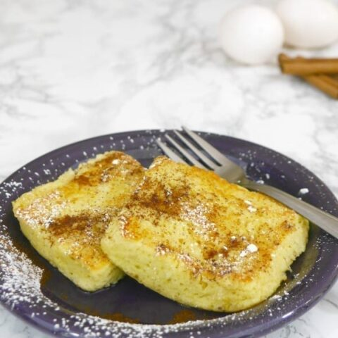 Quick Low Carb French Toast
