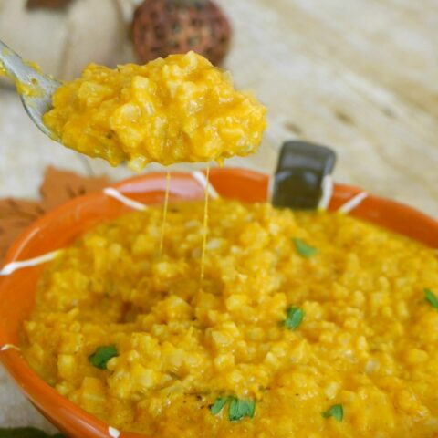 Low Carb Pumpkin Risotto